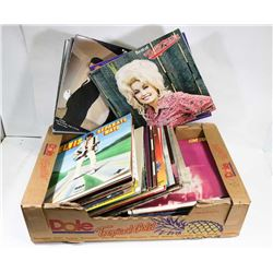 BOX OF RECORDS ON CHOICE