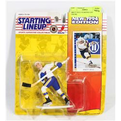 BRETT HULL STARTING LINE UP 1994 FIGURE