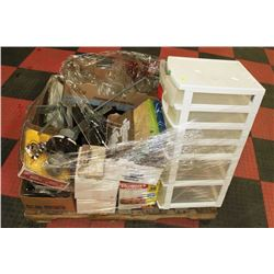 PALLET OF MISC ITEMS NOT FOR AUCTION RESALE