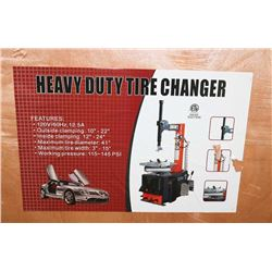 NEW HEAVY DUTY TIRE CHANGER 110 VOLT