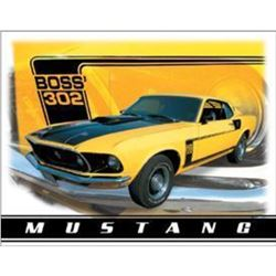 "Ford Mustang Boss 302 16""W x 12.5""H"