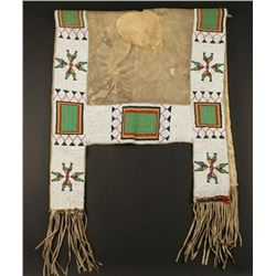 Sioux Beaded Saddle Blanket