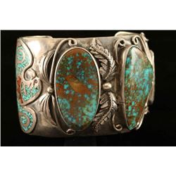 Three Stone Zuni Inlaid Cuff