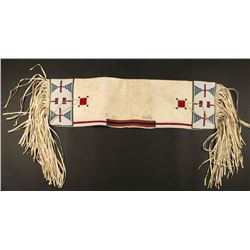 Sioux Beaded Saddle Bags