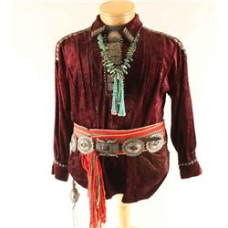 Traditional Navajo Shirt and Accessories