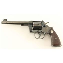 Colt Officers Model Heavy Barrel .38 Cal
