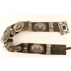 Old Pawn Turquoise Concho