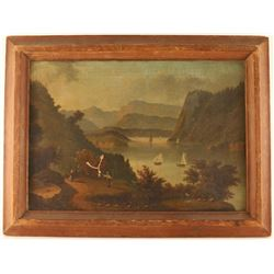 American Hudson River School Painting
