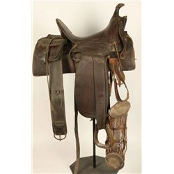 Knox & Tanner High Back Saddle