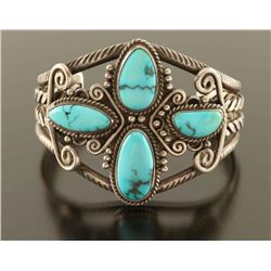 Fred Harvey Turquoise Cuff