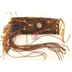 Buffalo Fringed Pipe Bag