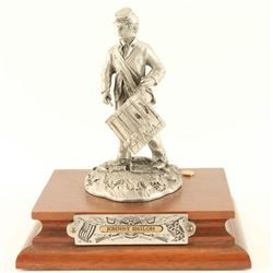 'Johnny Shiloh' Pewter Sculpture