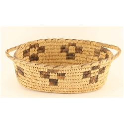 Papago Basket with Handles