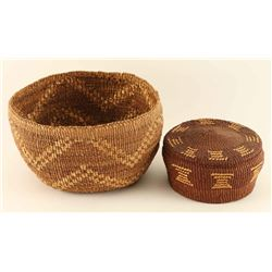 Collection of 2 Modac Baskets