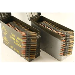 Large Lot of 8mm Ammo