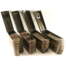Large Lot of 8mm Linked Ammo