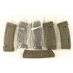 Lot of (6) AR-15 Mags