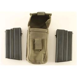 Lot of 2 Factory Zastava M77 Magazines