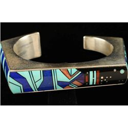 Unique Inlaid Cuff