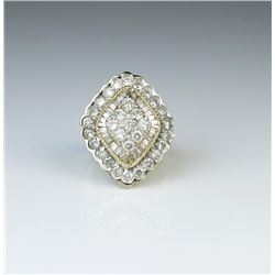 Beautiful Vintage Style Diamond Ring