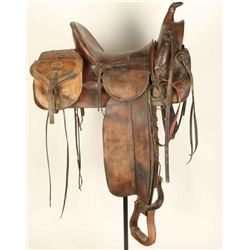 P. A. Wilkerson High Backed Saddle