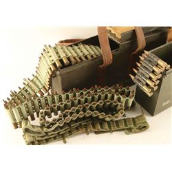 2 Vickers Ammo Cans with Ammo