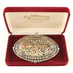 Sterling & Gold Buckle