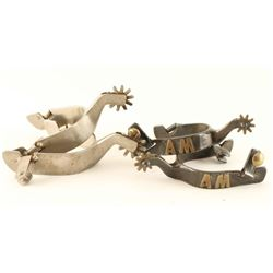 Lot of 2 Pairs Spurs