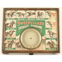 Horse Race Sweepstakes Game