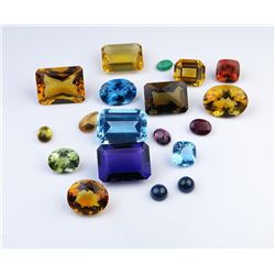 Beautiful Assortment of Cut Natural Gemstones