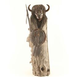 Buffalo Spirit Carving