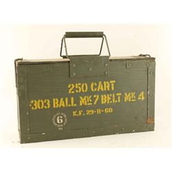250rds of 303 British ammo ball