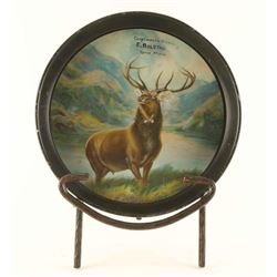 Lithograph Serving Tray & Stand