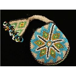 Native American Beaded Pocketwatch Case