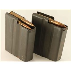 Lot of Two 50 Cal Mags