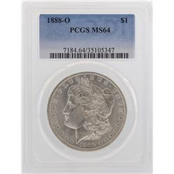 1888-O $1 Morgan Silver Dollar Coin PCGS MS64