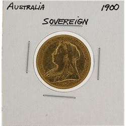 1900 Australia Sovereign Gold Coin