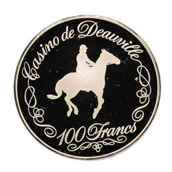 Casino de Deauville 19.8 gram .925 Sterling Silver Gaming Token