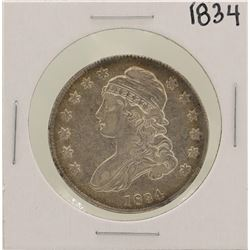 1834 Small D. Small L. Capped Bust Half Dollar Coin