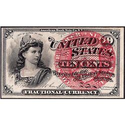 March 3, 1863 Fourth Issue Ten Five Cent Fractional Currency Note