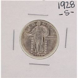 1928-S Standing Liberty Quarter Coin