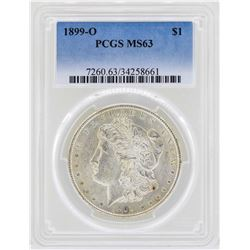 1899-O $1 Morgan Silver Dollar Coin PCGS MS63