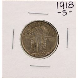 1918-S Standing Liberty Quarter Coin