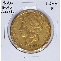 1895-S $20 Liberty Head Double Eagle Gold Coin