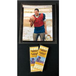 The Longest Yard (2005) - 2 Tickets And Framed Adam Sandler Autographed Photo