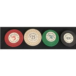 Ocean's Eleven (2001) - Collection of 4 Casino Chips