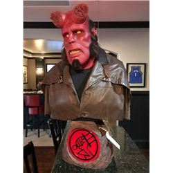 Hellboy (2004) - Life Size Custom Bust of Original Production Appliances
