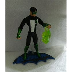 ACTION FIGURE WITH BATMAN STAND - GREEN LANTERN