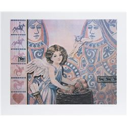 Robert Anderson, The Heartkeepers, Lithograph