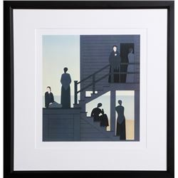 Will Barnet, Waiting from the Kent Bicentennial Portfolio, Print